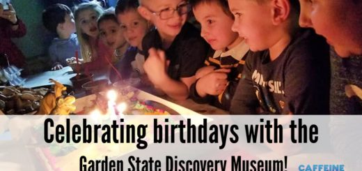 Garden State Discovery Museum Birthday Party in Cherry Hill, New Jersey