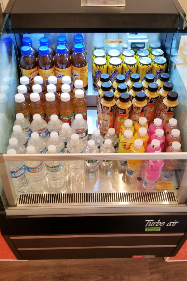 drinks for sale at peachwave mount laurel south jersey frozen yogurt dole whip gelato