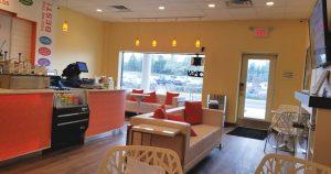 peachwave mt laurel entrance south jersey family friendly dining frozen yogurt