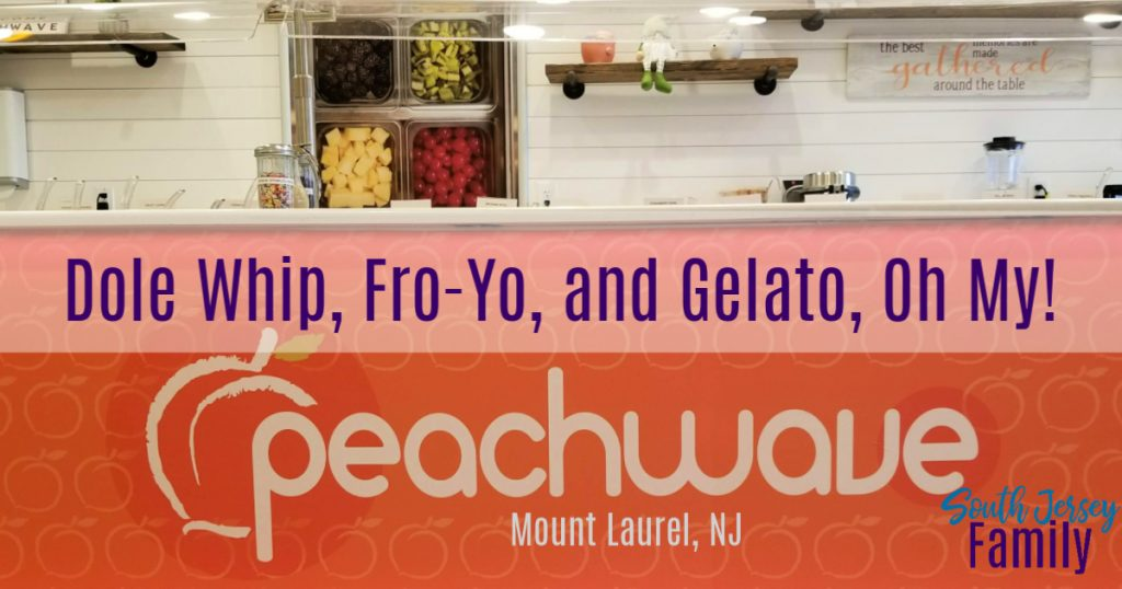 dole whip, fro you, gelato oh my at Peachwave in Mount Laurel, NJ