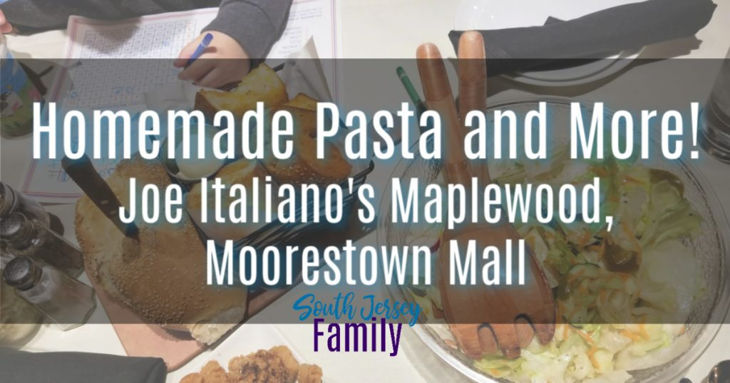 homemade past and more at joe italiano's maplewood restaurant at the moorestown mall in south new jersey