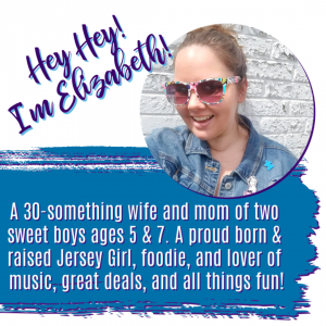 about Elizabeth, the owner of South Jersey Family blog