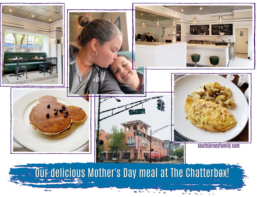 our mother's day meal at the chatterbox restaurant in ocean city, new jersey