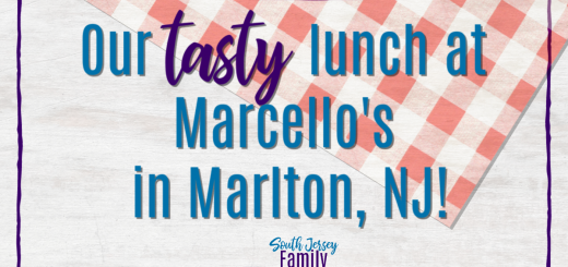 Our Tasty lunch at Marcello's in Marlton, NJ