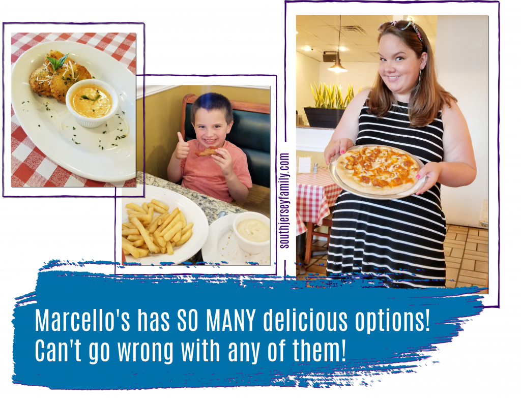 Marcello's has so many delicious options. Can't go wrong with any of them!