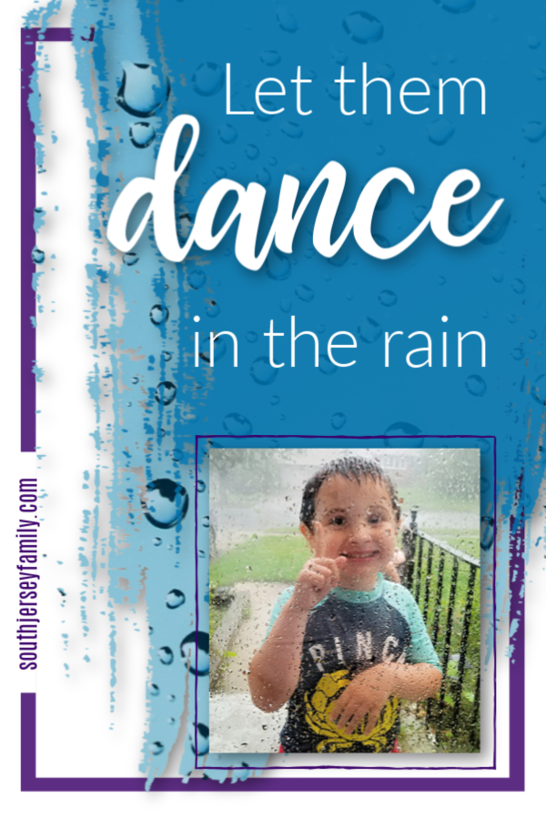 dancing in the rain cherry hill new jersey south jersey family childhood