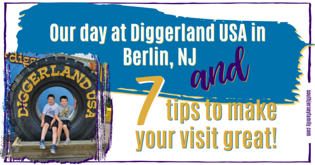our day at diggerland usa in berlin, nj and 7 tips to make your visit great