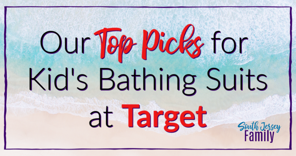 South Jersey Family top picks for kid's bathing suits at target