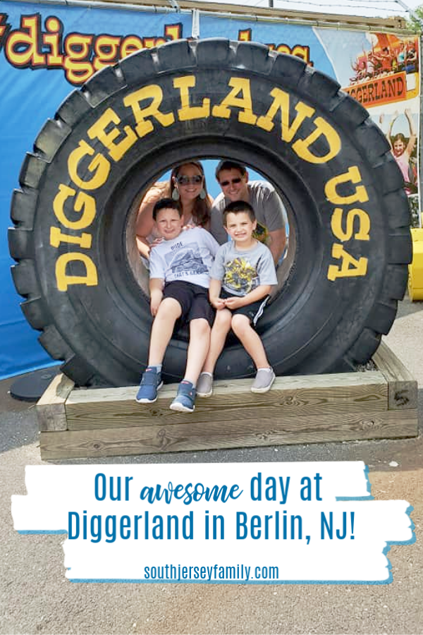 our awesome day at diggerland