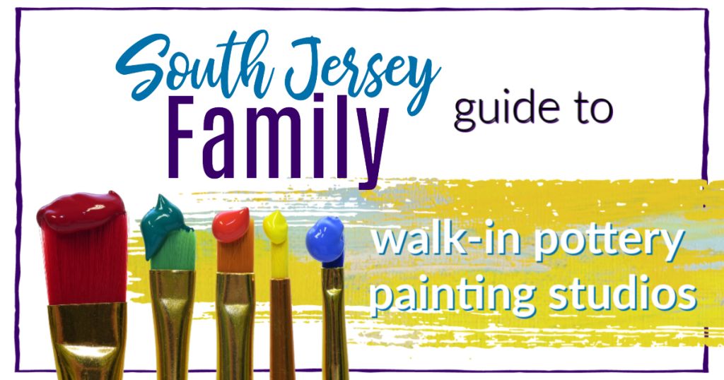 south jersey family guide to walk in pottery painting studios