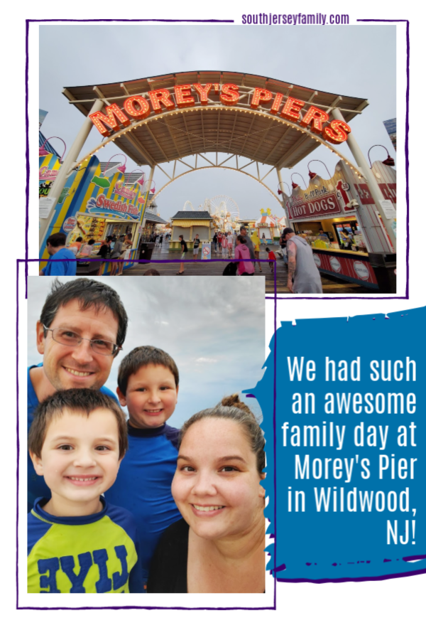 we had such an awesome day at morey's pier in wildwood nj
