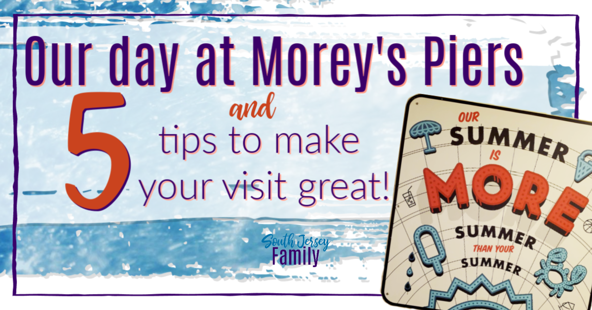 our day at Morey's Piers and 5 tips to make your visit great