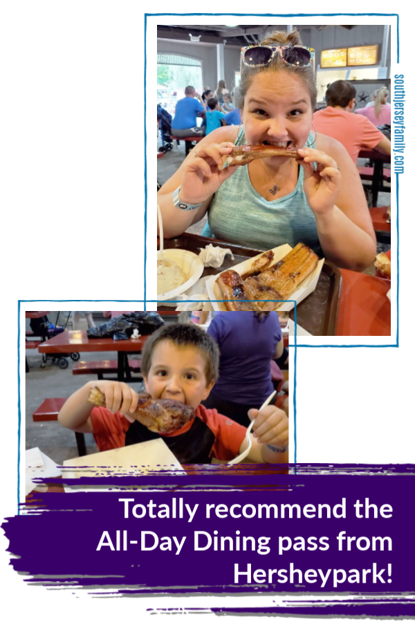 Totally recommend the all day dining pass at hersheypark