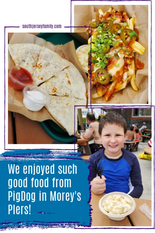 we enjoyed such good food from pigdog