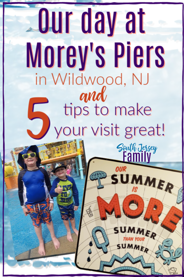 our day at morey's piers in wildwood nj and 5 tips to make your visit great
