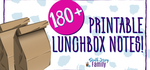 at least 180 printable lunchbox notes