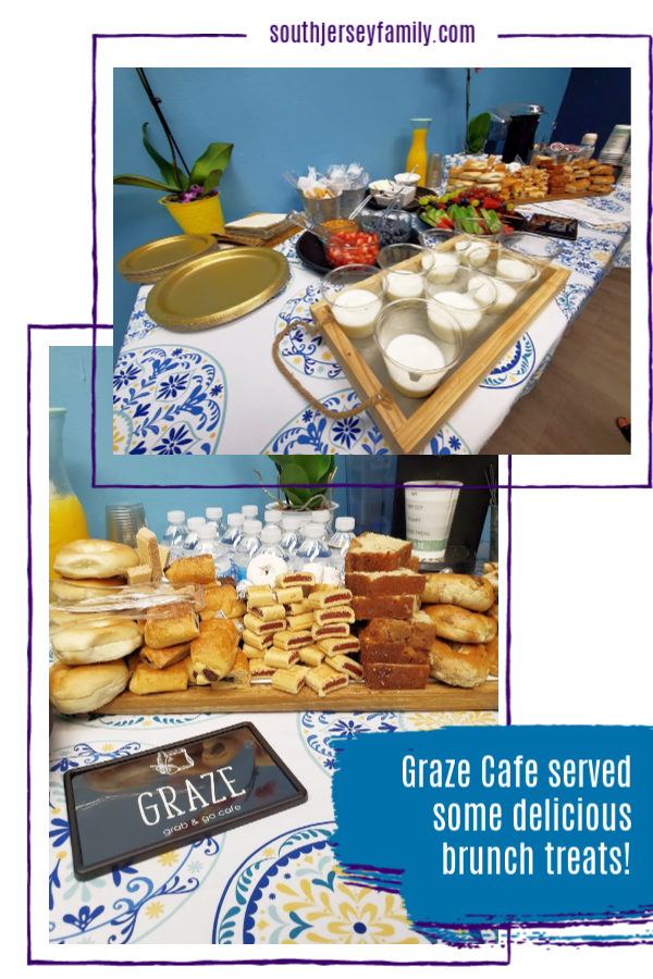 delicious, fresh foods from the Graze Cafe inside the Garden State Discovery Museum