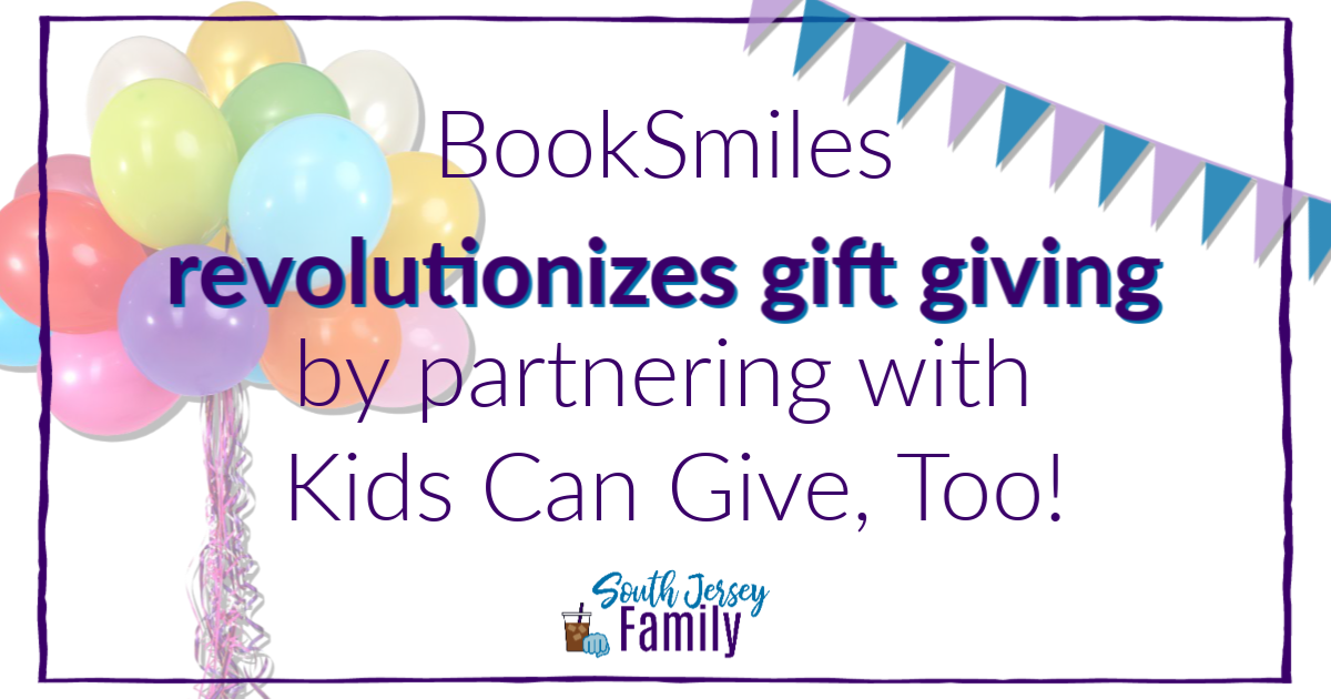 BookSmiles revolutionizes gift giving by partnering with Kids Can Give, Too