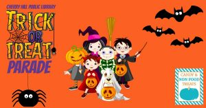 Trick or Treat Parade at Cherry Hill Public Library @ Cherry Hill Public Library