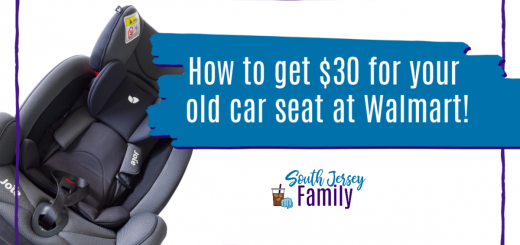how to get $30 for your old car seat at Walmart