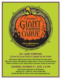 Giant Pumpkin Carve @ Salem County Fairgrounds