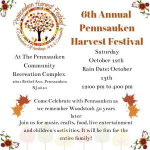 Pennsauken Harvest Festival @ Pennsauken Community Recreation Complex