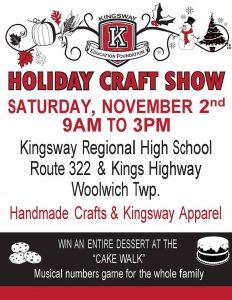 2019 KEF Craft Show @ Kingsway Regional High School