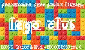 LEGO Club @ Pennsauken Free Public Library