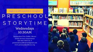 Preschool Story Time @ Pennsauken Free Public Library