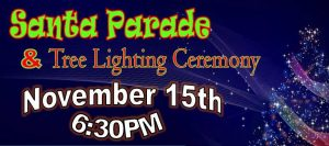 Santa Parade and Tree Lighting @ Voorhees Town Center