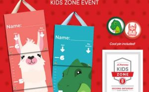 JC Penney Kids Zone Event - Create a Growth Chart @ Deptford Mall JC Penney