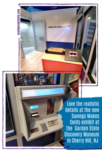 garden state discovery museum bank of america savings makes cents images of the lobby and atm machine