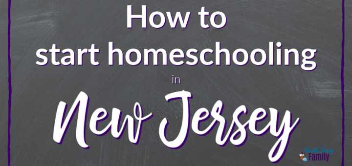 how tos tart homeschooling in new jersey