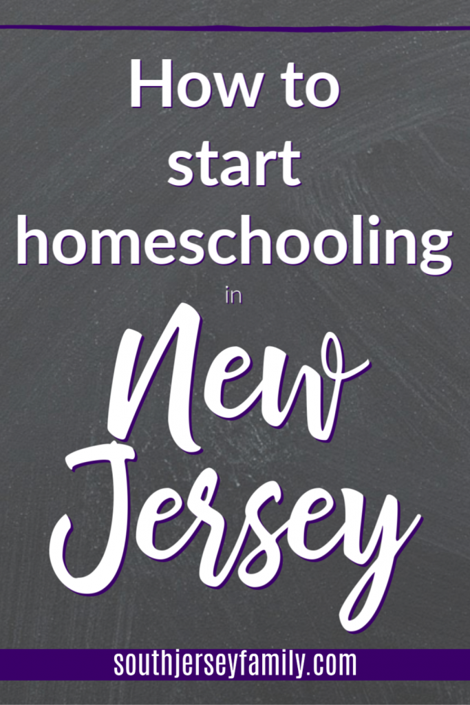 how to start homeschooling in new jersey pinterest image